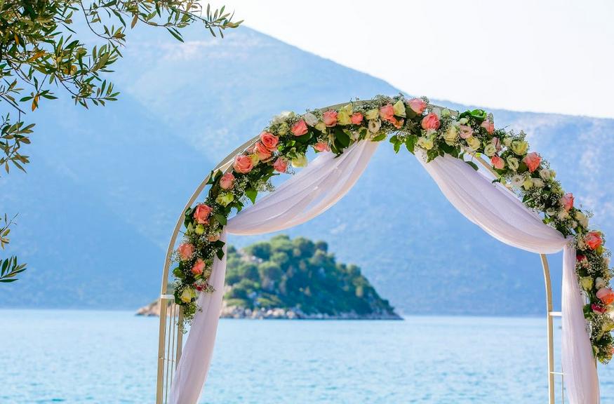 Ithaka - Dexa Strand Hochzeitsbogen